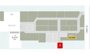 テルミナ2館内マップ